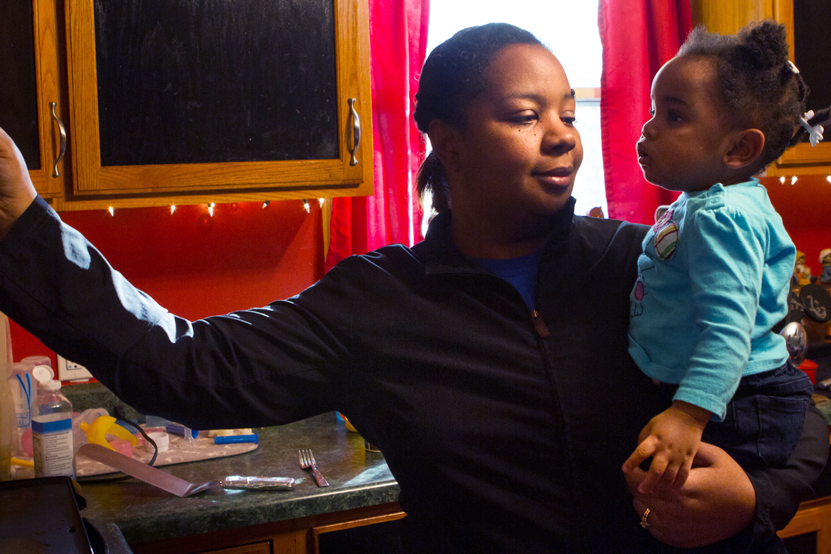 Shanetha Donaldson always knew she'd open her home to kids facing the struggles she had growing up.